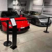 Rajaustolppa Museo Black