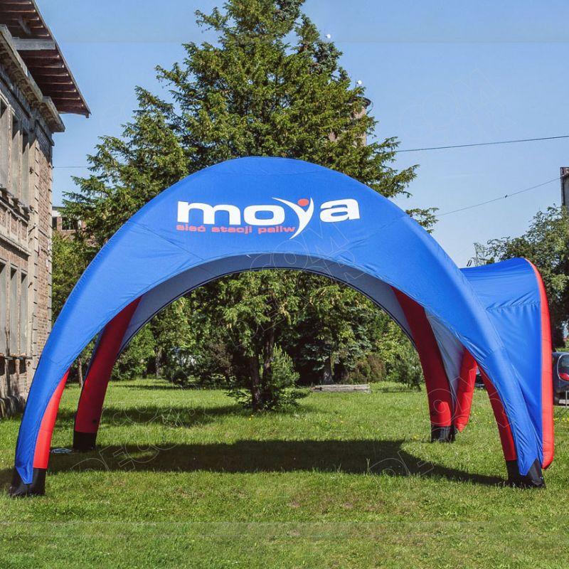 Ilmatäytteinen teltta / mainosteltta