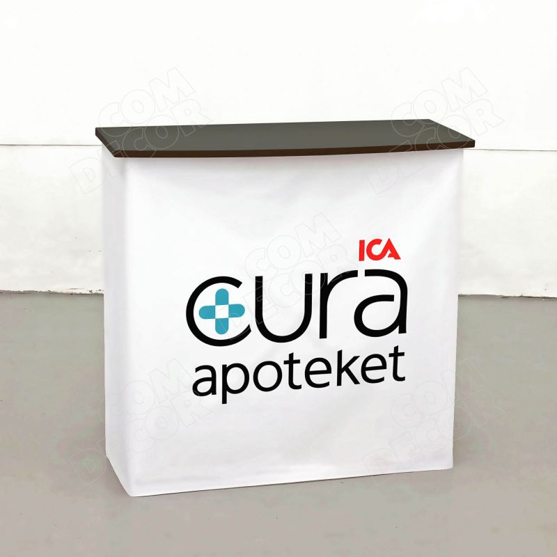 Messupöytä / esittelypöytä tuoteesittelyyn