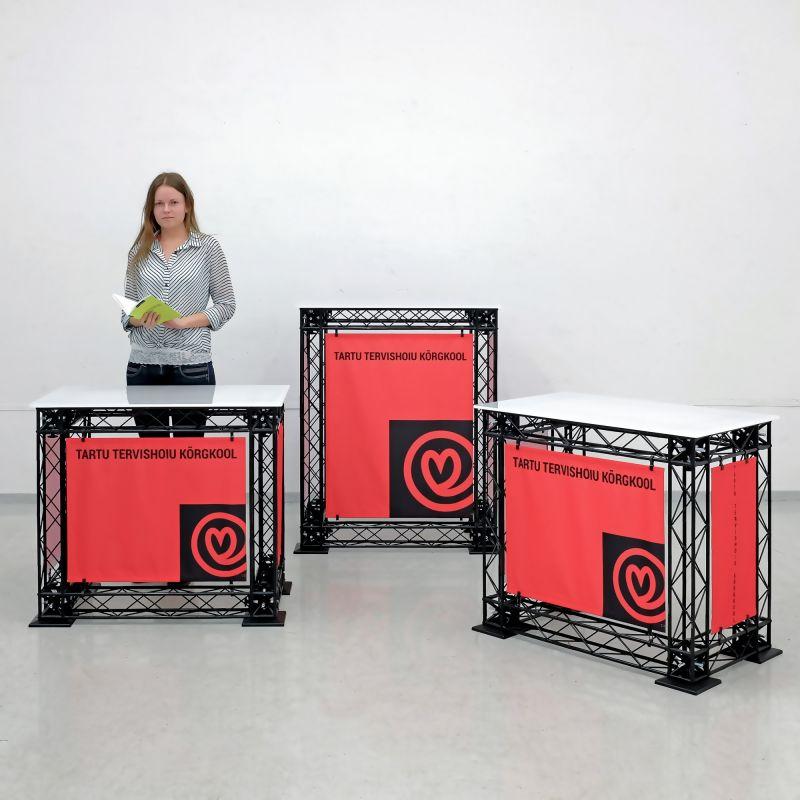 Messutiskit / messupöydät
