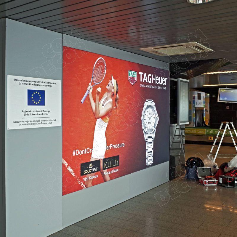 Valolaatikko Tallinnan Lentoasemalla