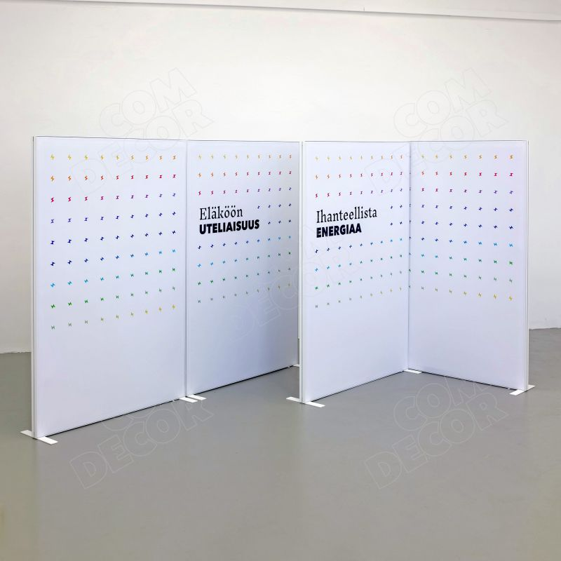 Acoustic partitions / room dividers / office screens