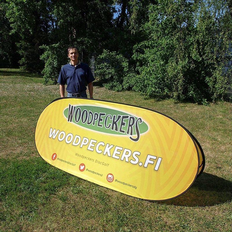 Banner beachbanner / outdoor advertising