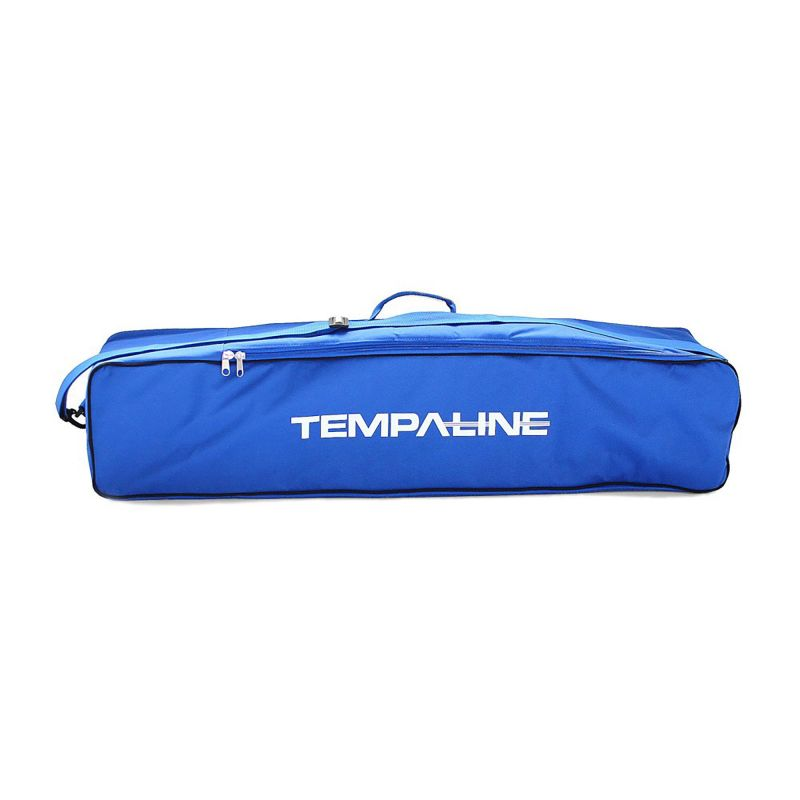 Carrying bag for portable barrier poles