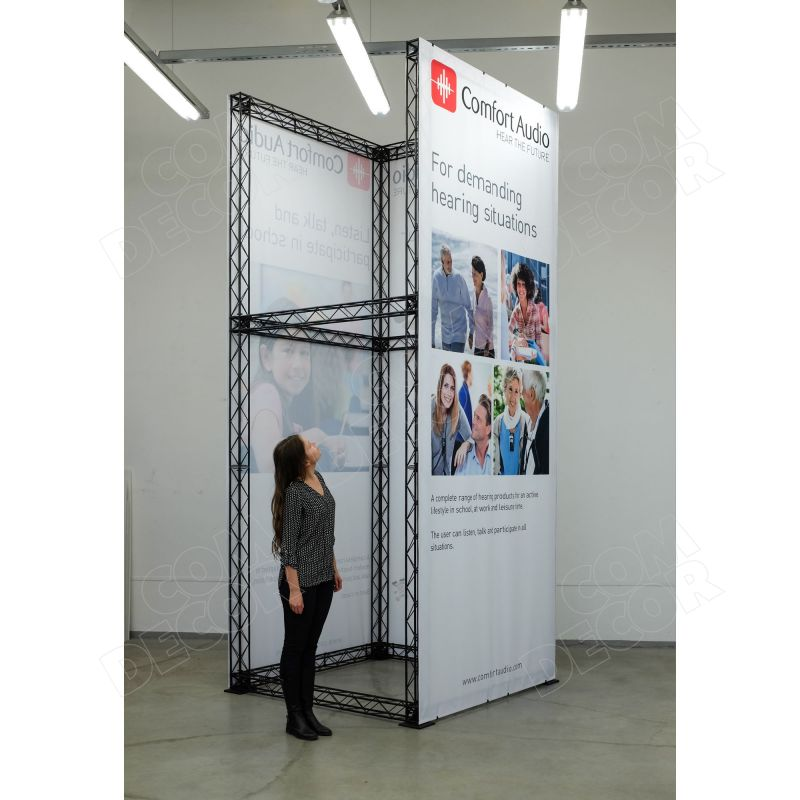 Exhibition structure / exhibition stand / X10 truss