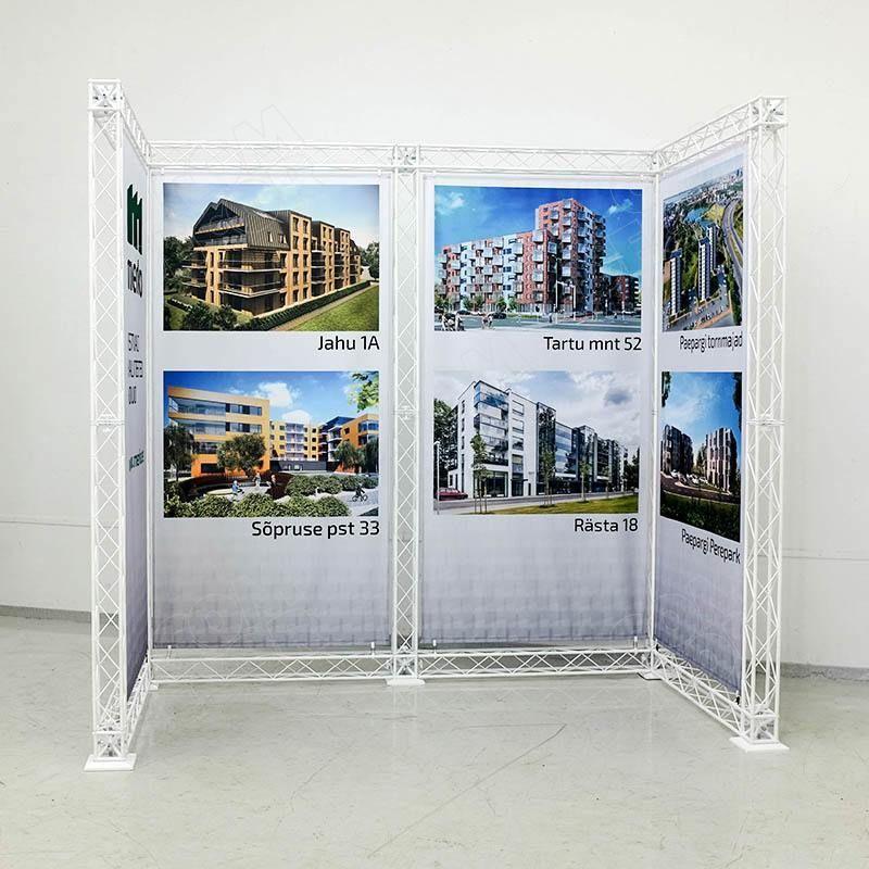 Exhibitionr construction / exhibition stand / truss stand