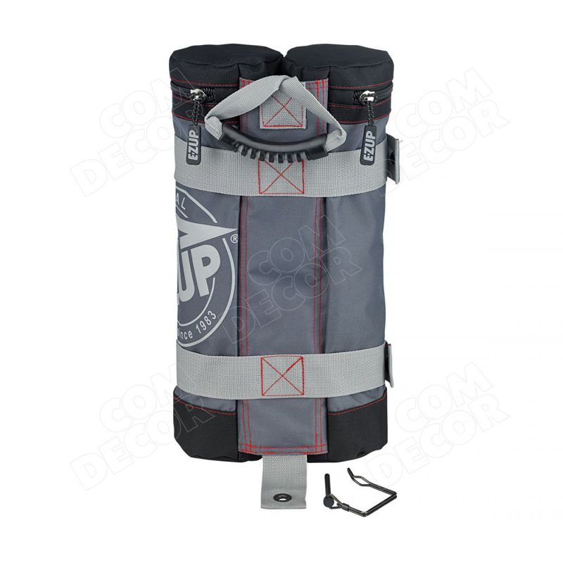 Extra weight for the E-Z Up professional tent