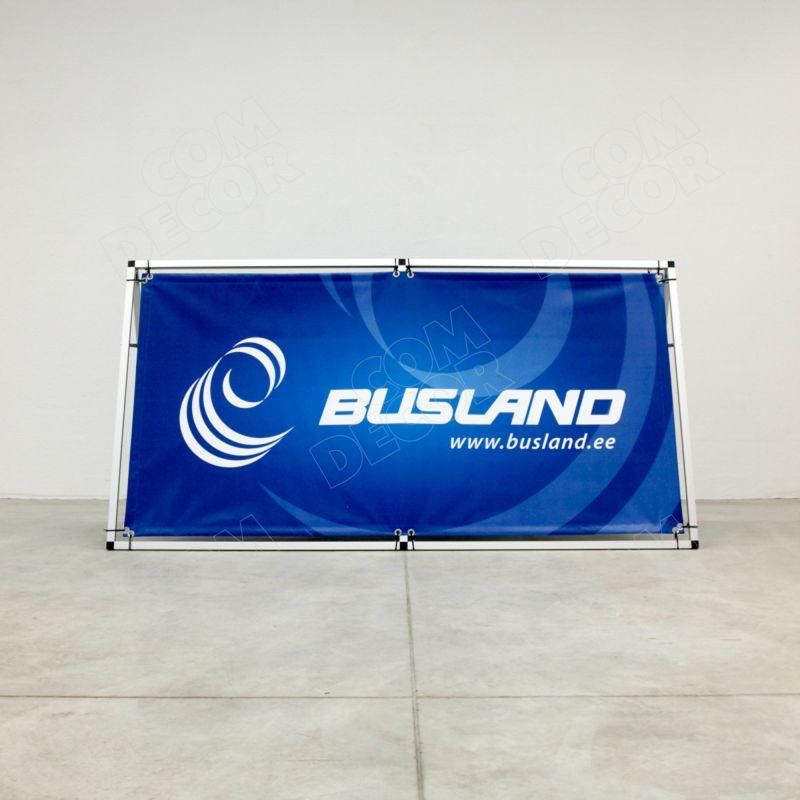 Horizontal advertising banner