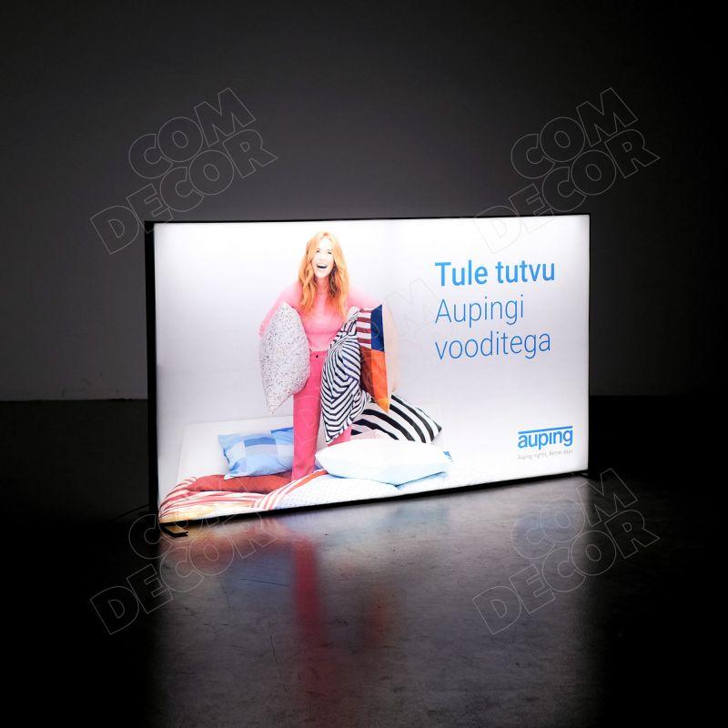 Lightbox T-flex / SEG illuminated advertisement