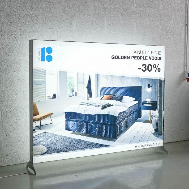 Lightbox T-Flex / SEG illuminated advertising