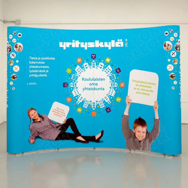 Pop-up stand