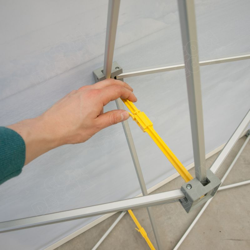 Pop up stands - mounting