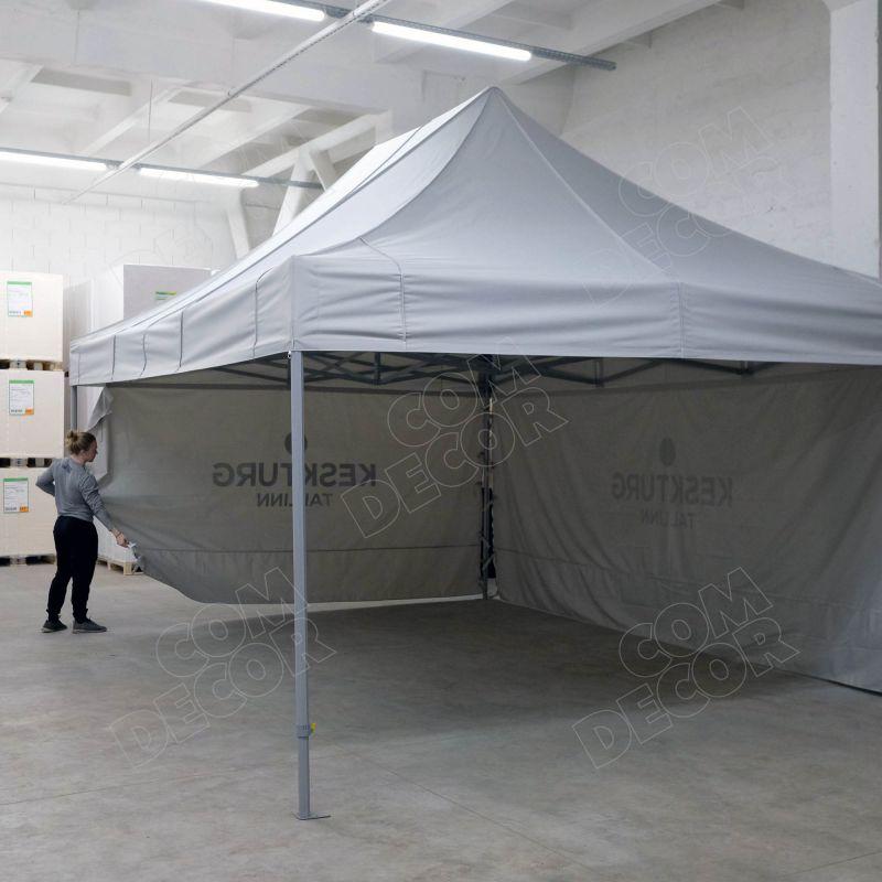 Pop up tent / service tent