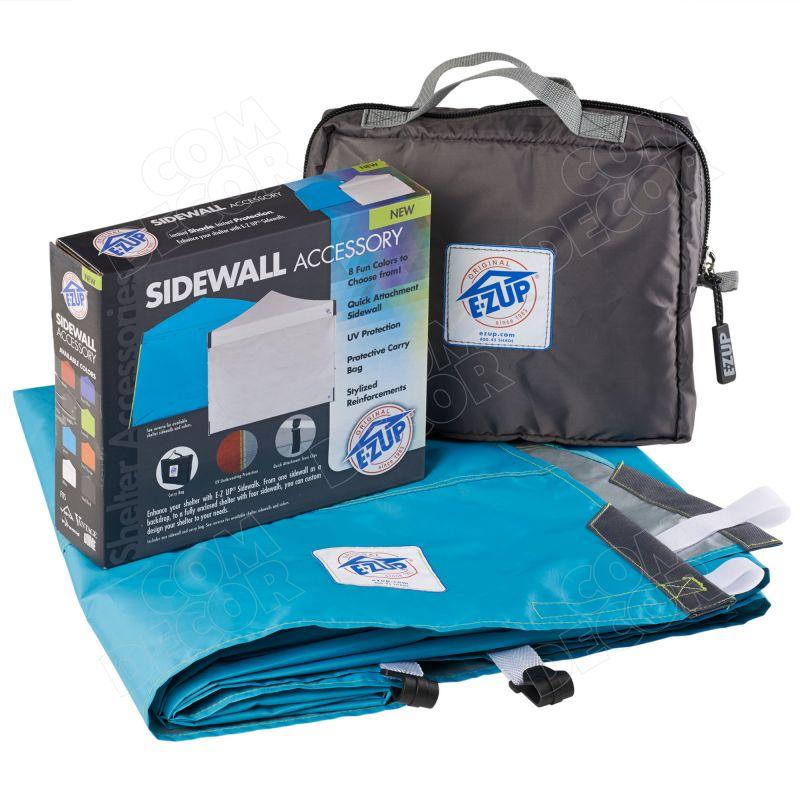 Pop up tent sidewalls
