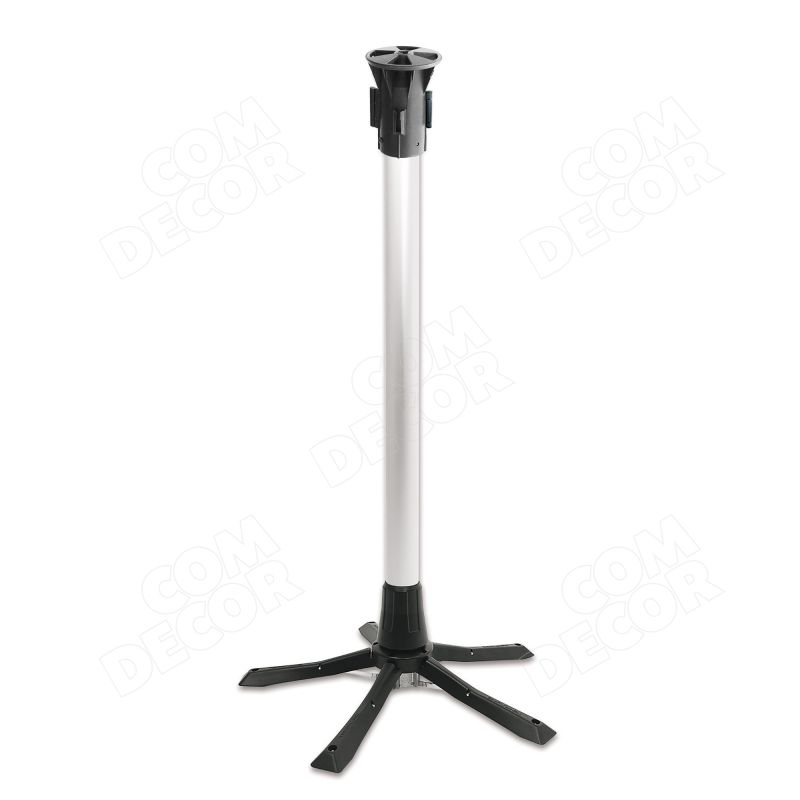 Portable barrier poles