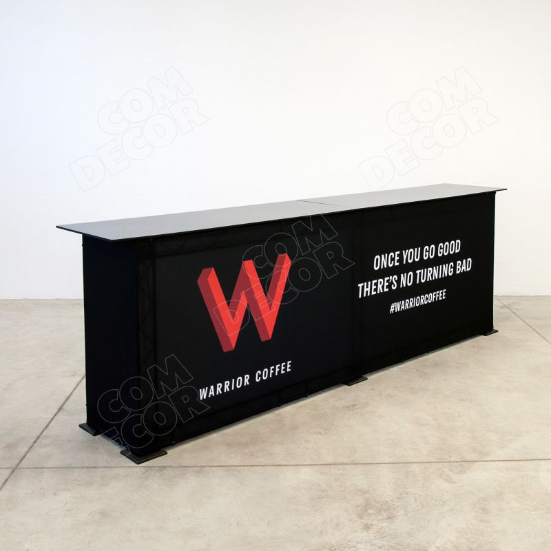 Presentation counter / exhibition counter