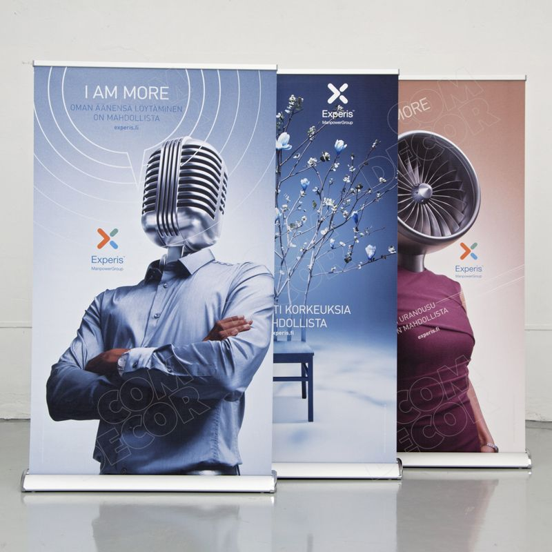 Roll ups - wide roll up banners