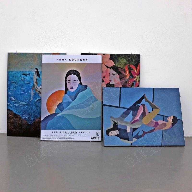 SEG interior panels / canvas panels / photo canvas