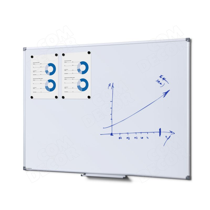 Whiteboard / magnetic board 120x90cm